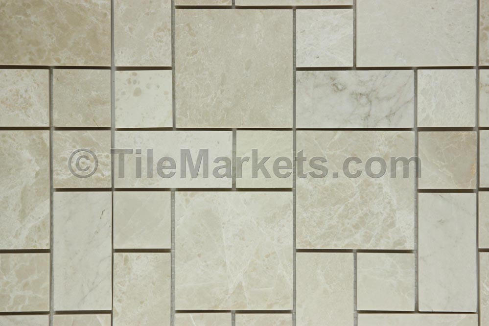 Pearl Marble Roman Pattern Tile Wholesale From Tilemarkets 174