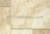 Travertine Tile Sunset
