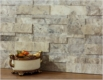 3D Travertine Silver