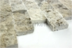 Fireplace Stone Splitface Travertine Silver