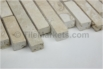 Travertine Mosaic Ivory 5/8 Random Strip