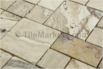 Travertine Mosaic Picasso Roman Pattern Tumbled