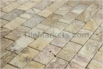 Travertine Mosaic Backsplash Scabos 2x4 Tumbled