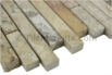 Travertine Mosaic Picasso  5/8 Random Strip