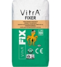White Tile Mortar Fixer by Vitra